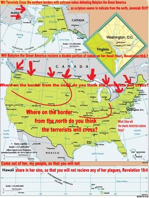 America, Babylon the Great will be attacked by Russia, Iran & Islamic terrorists from North
