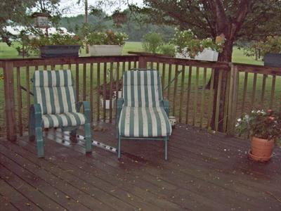 Clean up -- nice deck 2